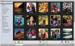 iPhoto '08 screen